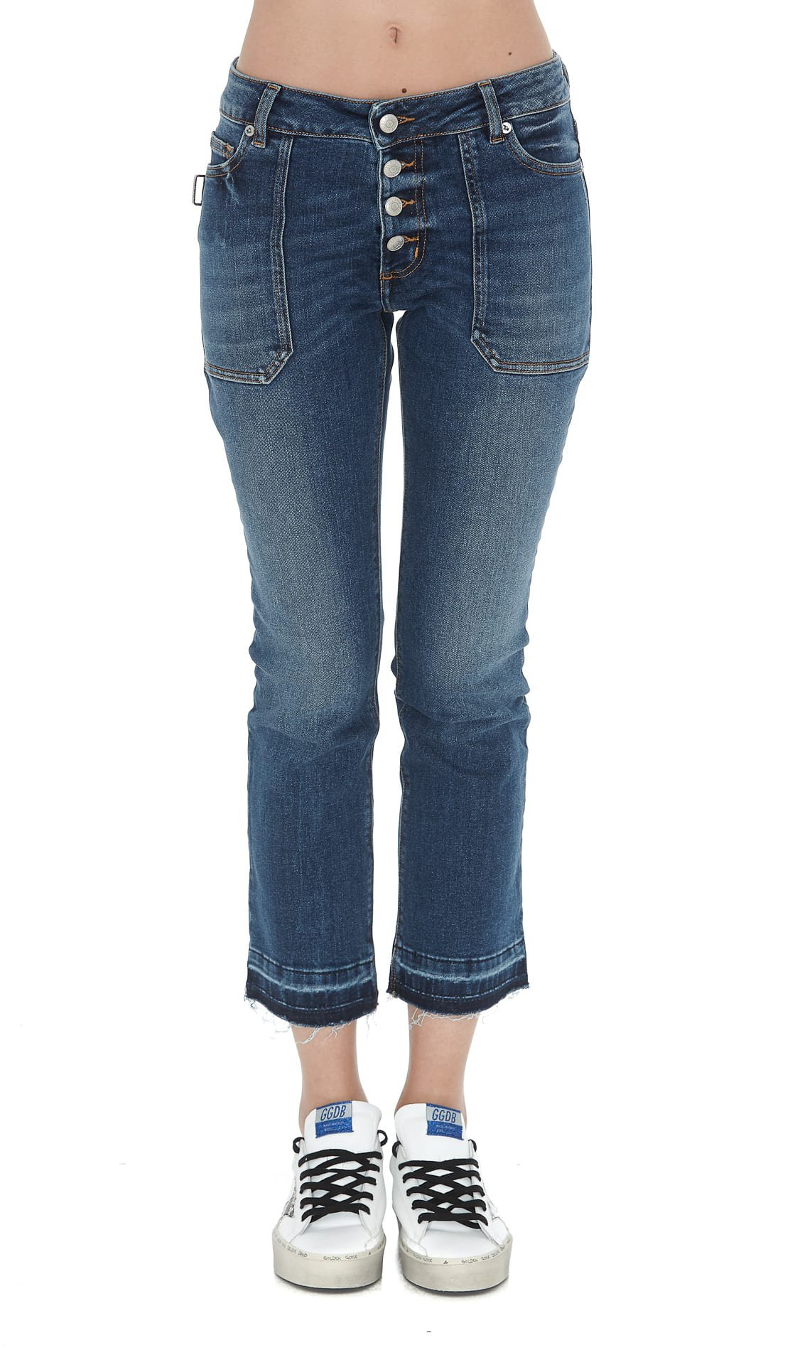 Zadig & Voltaire Logo Denim Jeans