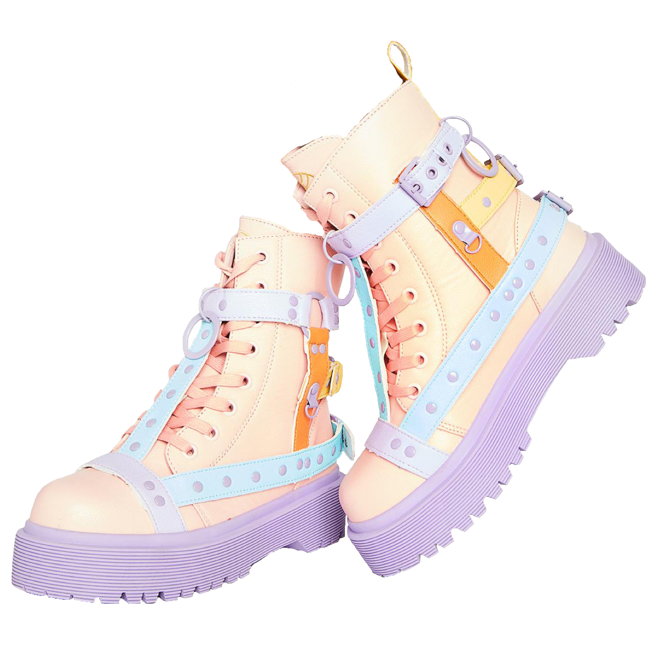 Pastel DollsKill Boots