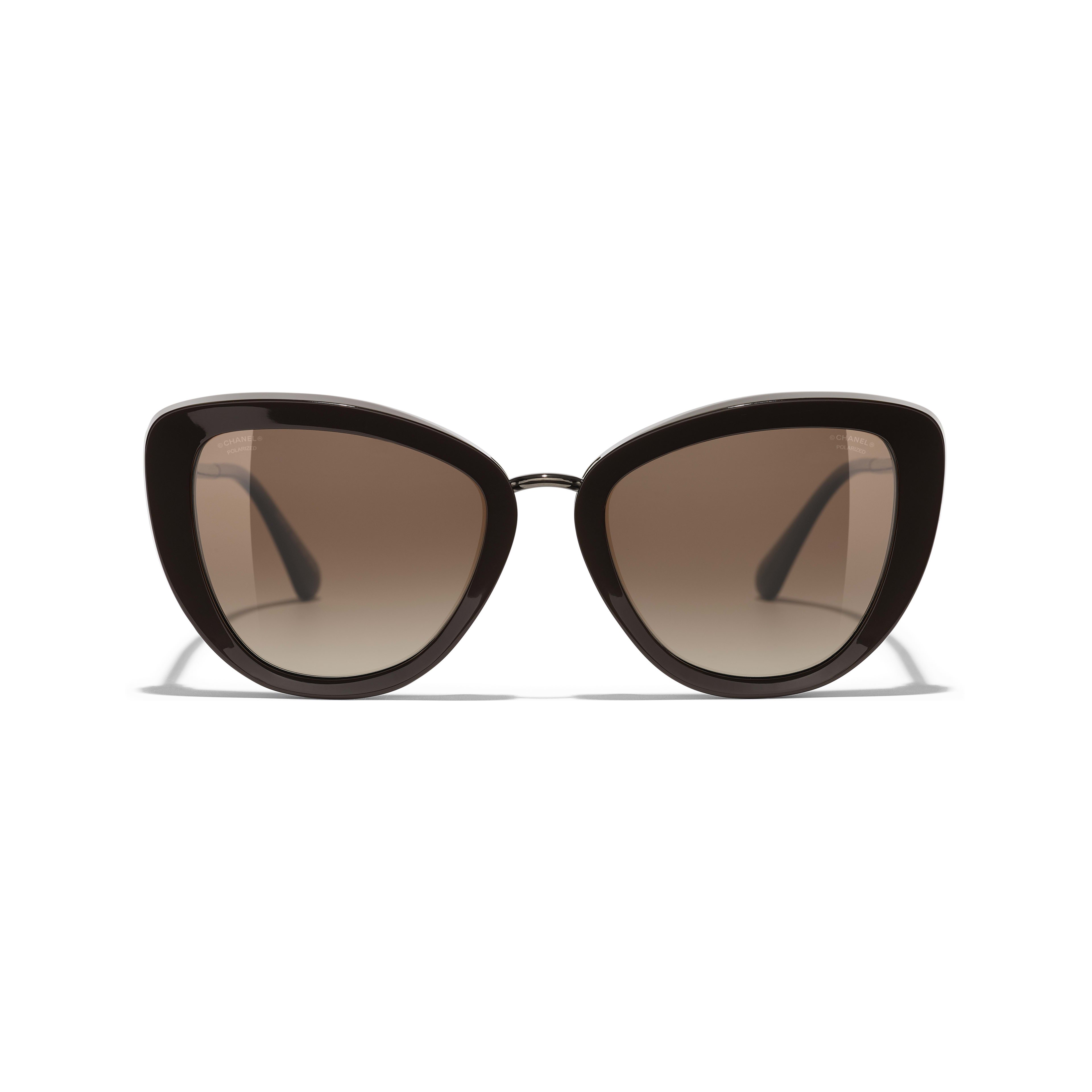 Cat Eye Sunglasses Brown eyewear | CHANEL