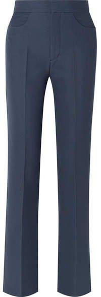 Troia Cady Straight-leg Pants - Navy