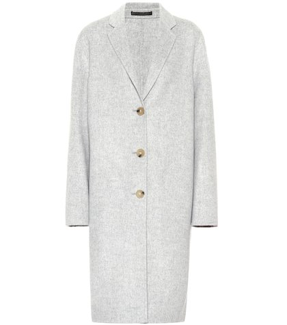 Avalon Doublé wool and cashmere coat