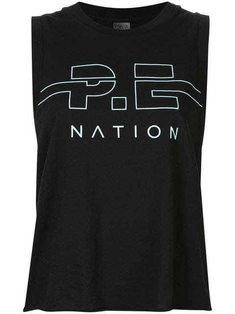 P.E Nation Spike tank top $90 - Buy SS19 Online - Fast Global Delivery, Price