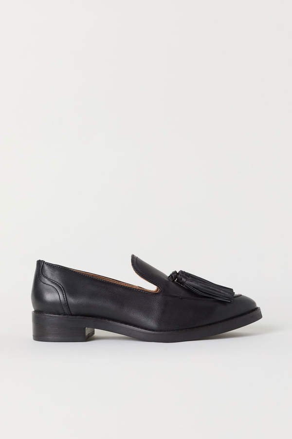 Tasseled Loafers - Black