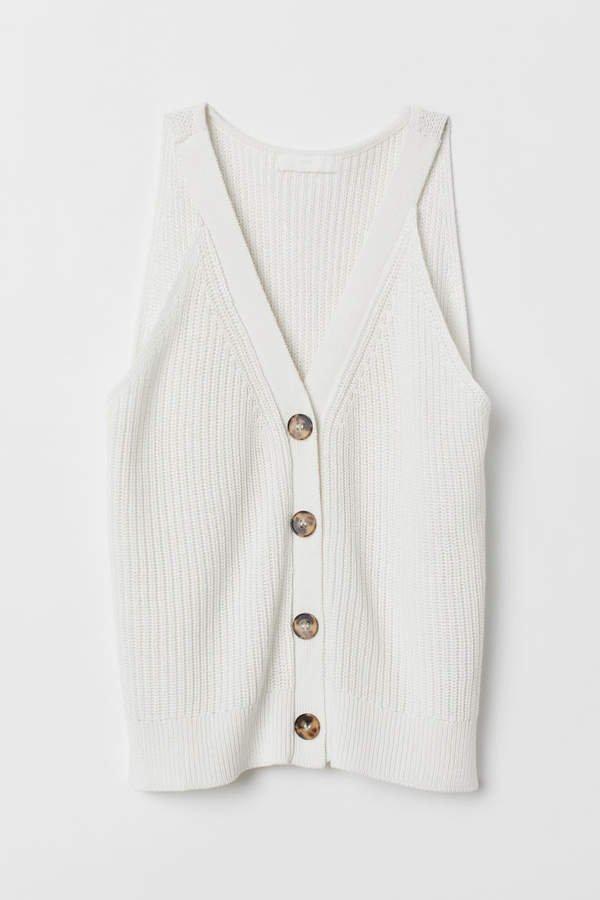 Knit Sweater - White