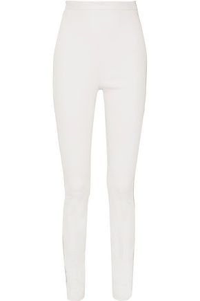 white leather leggings - Google Search