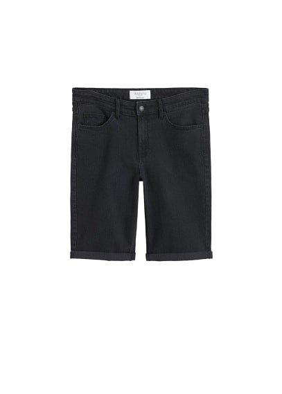 Violeta BY MANGO Denim bermuda shorts