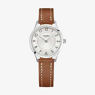 Slim d'Hermes watch, small model 25mm | Hermès
