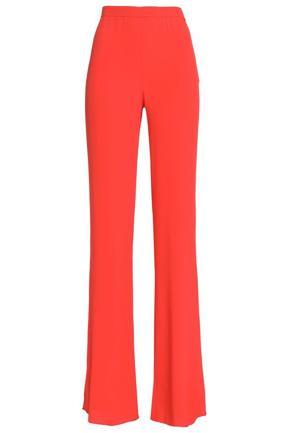 Crepe de chine flared pants | EMILIO PUCCI | Sale up to 70% off | THE OUTNET