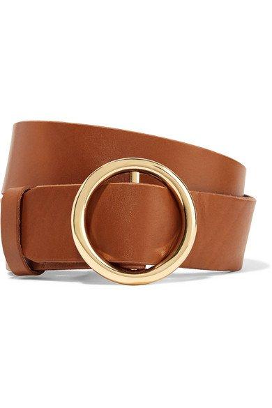FRAME   Le Circle leather belt   NET-A-PORTER.COM