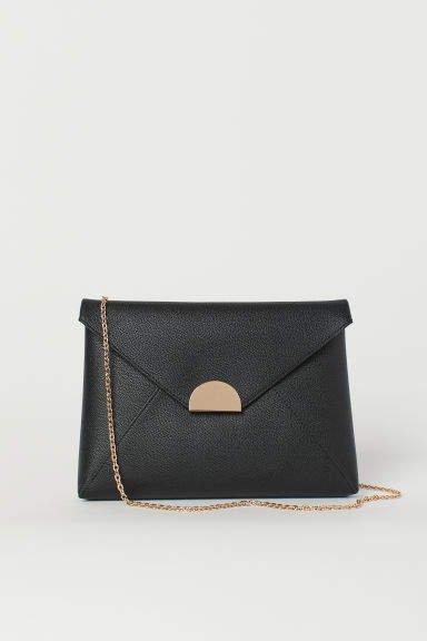 Large clutch bag - Black