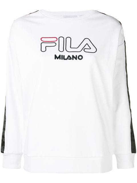 Fila embroidered logo sweatshirt $144 - Buy SS19 Online - Fast Global Delivery, Price