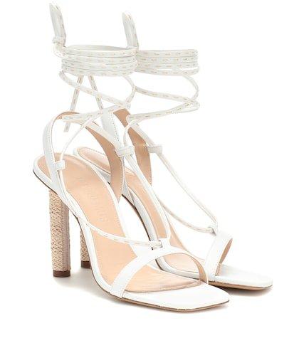 Bergamo leather sandals