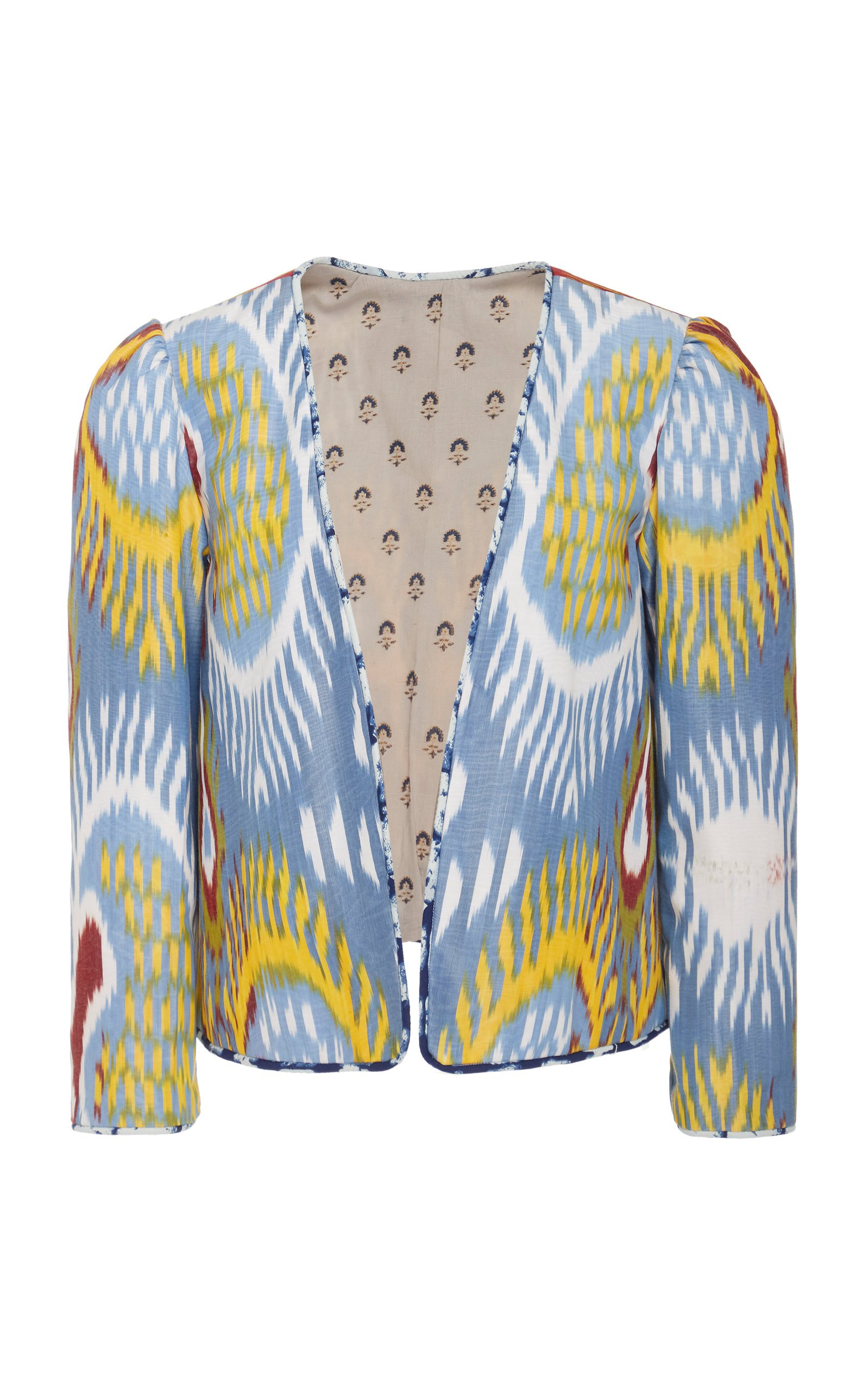 Alix of Bohemia Cy Printed Silk-Cotton Jacket