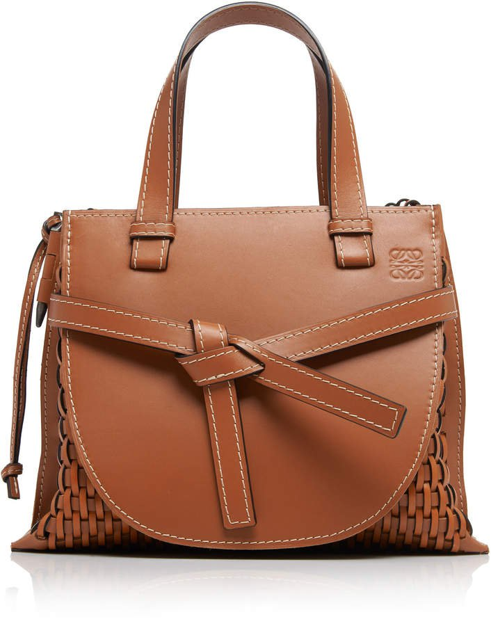 Gate Small Leather Tote