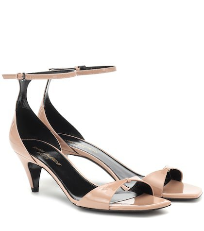 Charlotte patent leather sandals