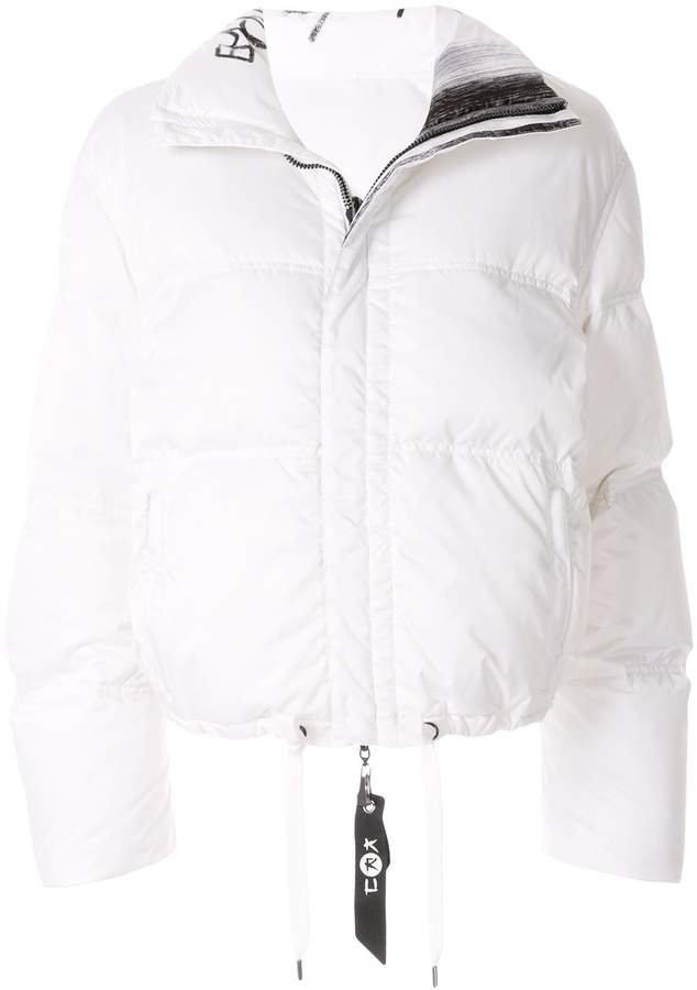 Kru reversible down puffer jacket