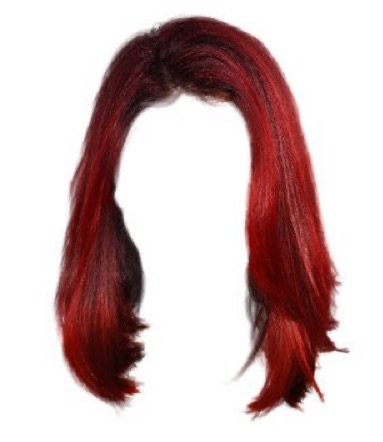 medium red hair