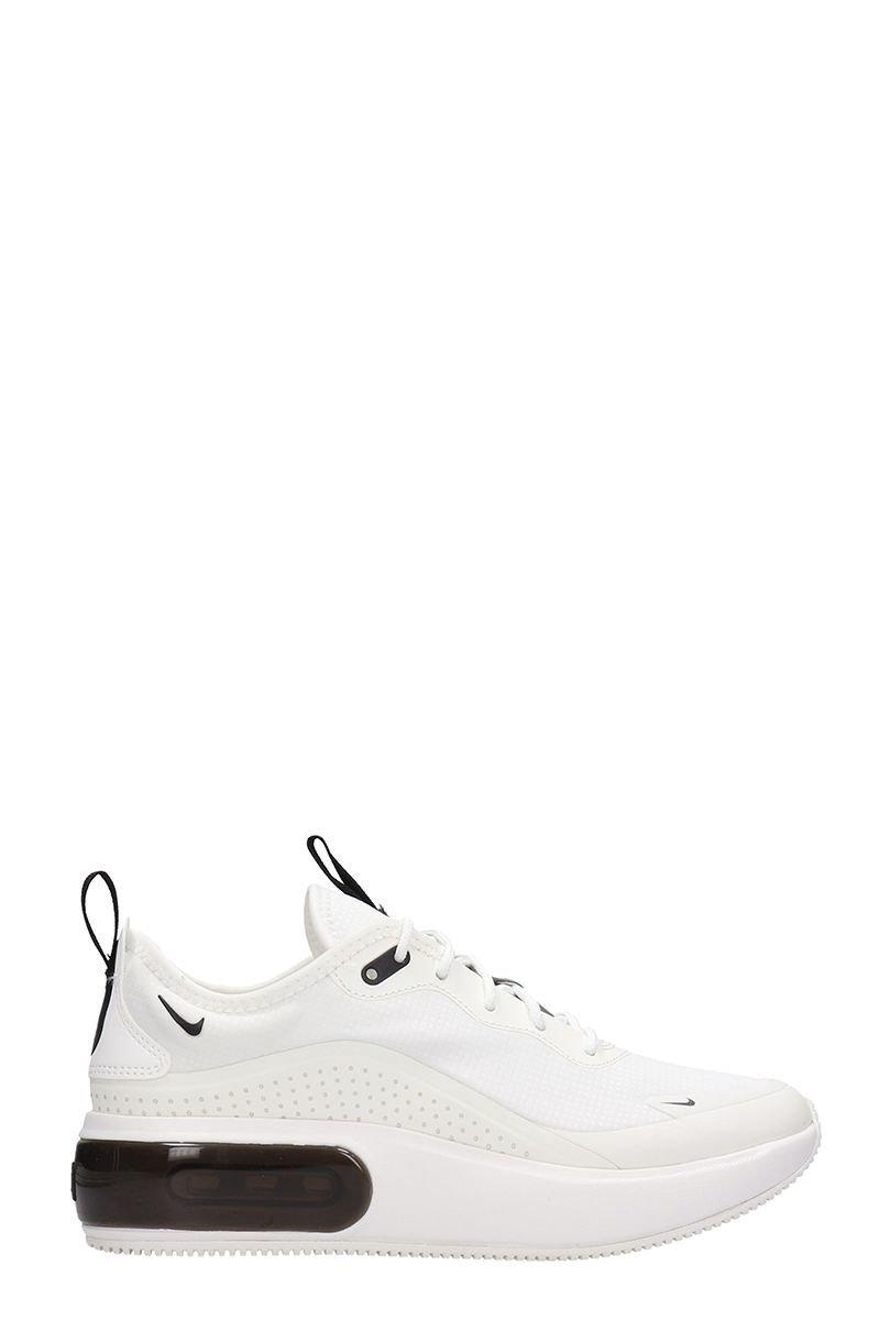 Nike Air Max Dia Sneakers White Leather