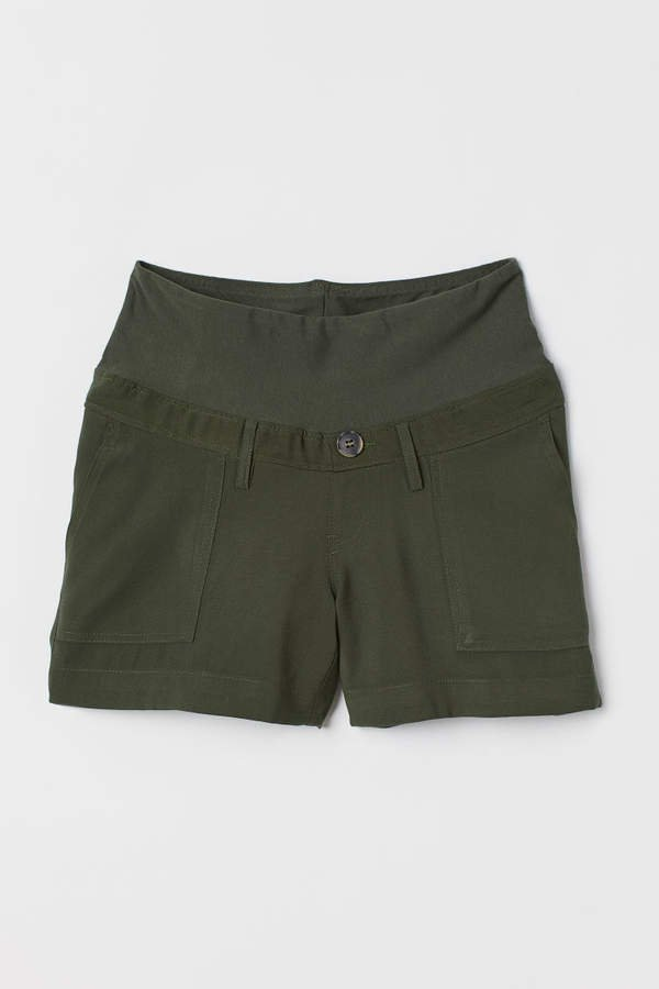 MAMA Cotton Shorts - Green