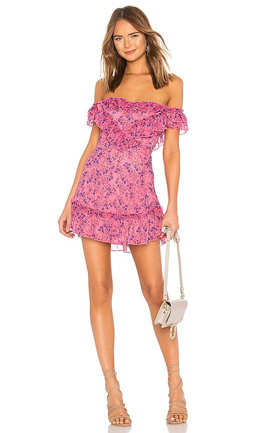 MAJORELLE Grace Mini Dress in Pink Baybreeze   REVOLVE