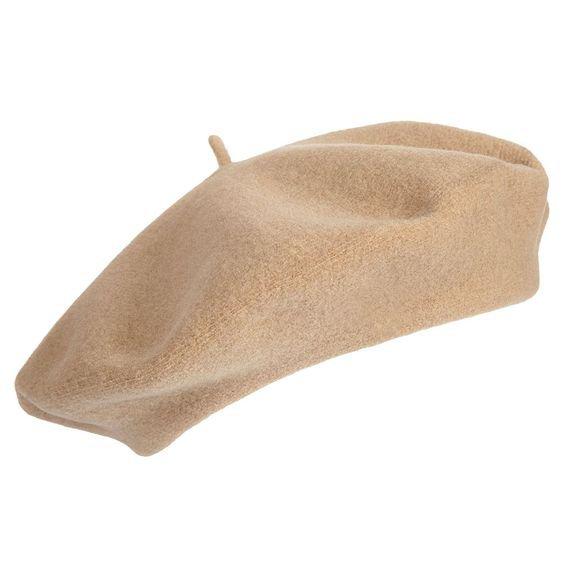 Light brown beret