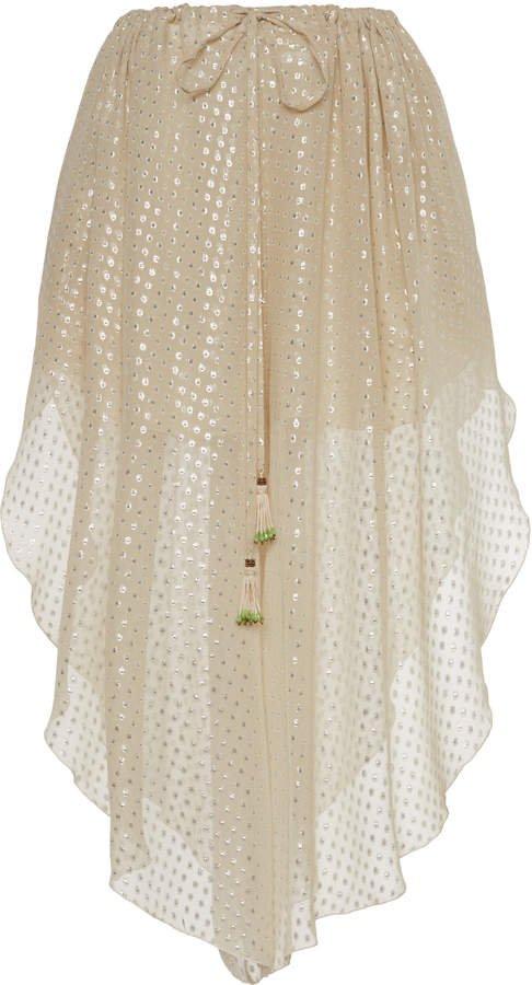 Etro Metallic Polka Dot Shorts Size: 40