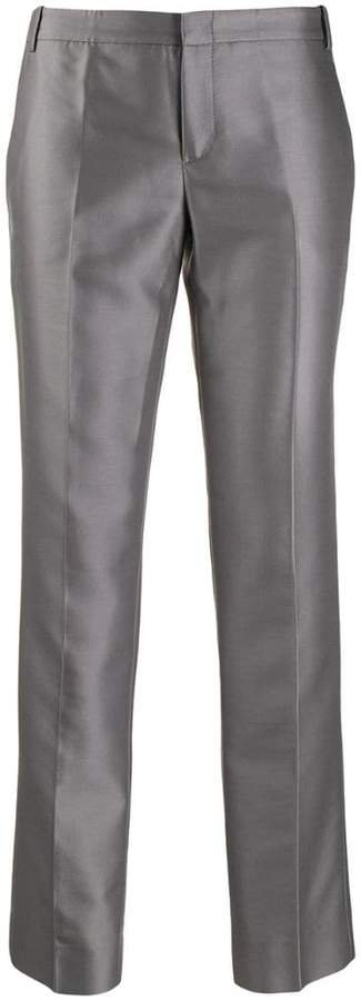 Pre-Owned 2000's straight-leg trousers