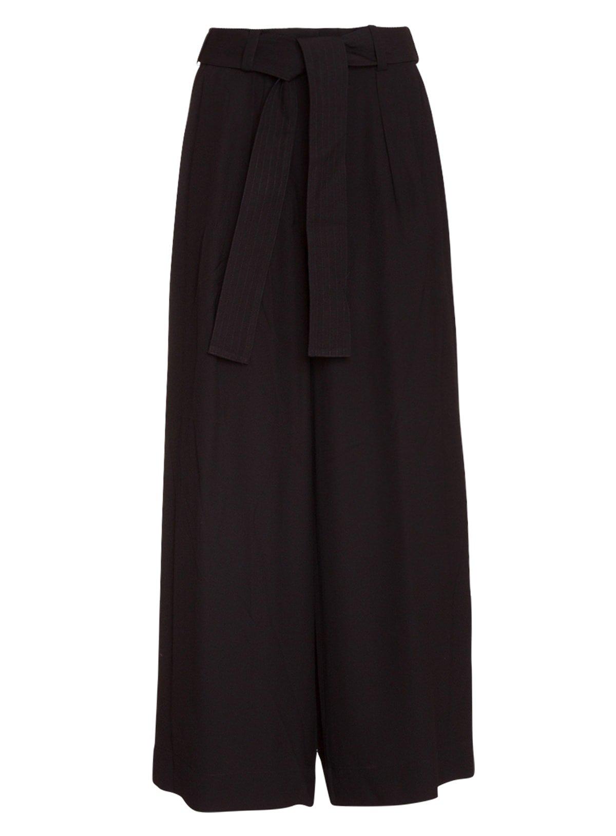 Zimmermann Pants In Black Cotton