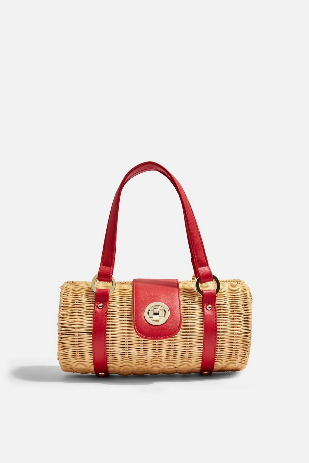 SYDNEY Straw Bowler Bag - Bags & Wallets - Bags & Accessories - Topshop USA