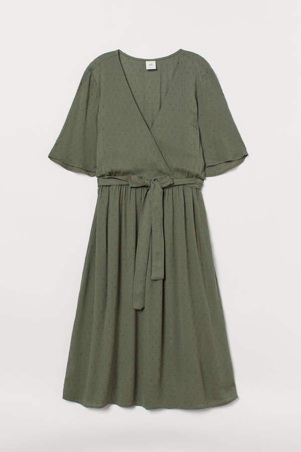 Wrap Dress - Green