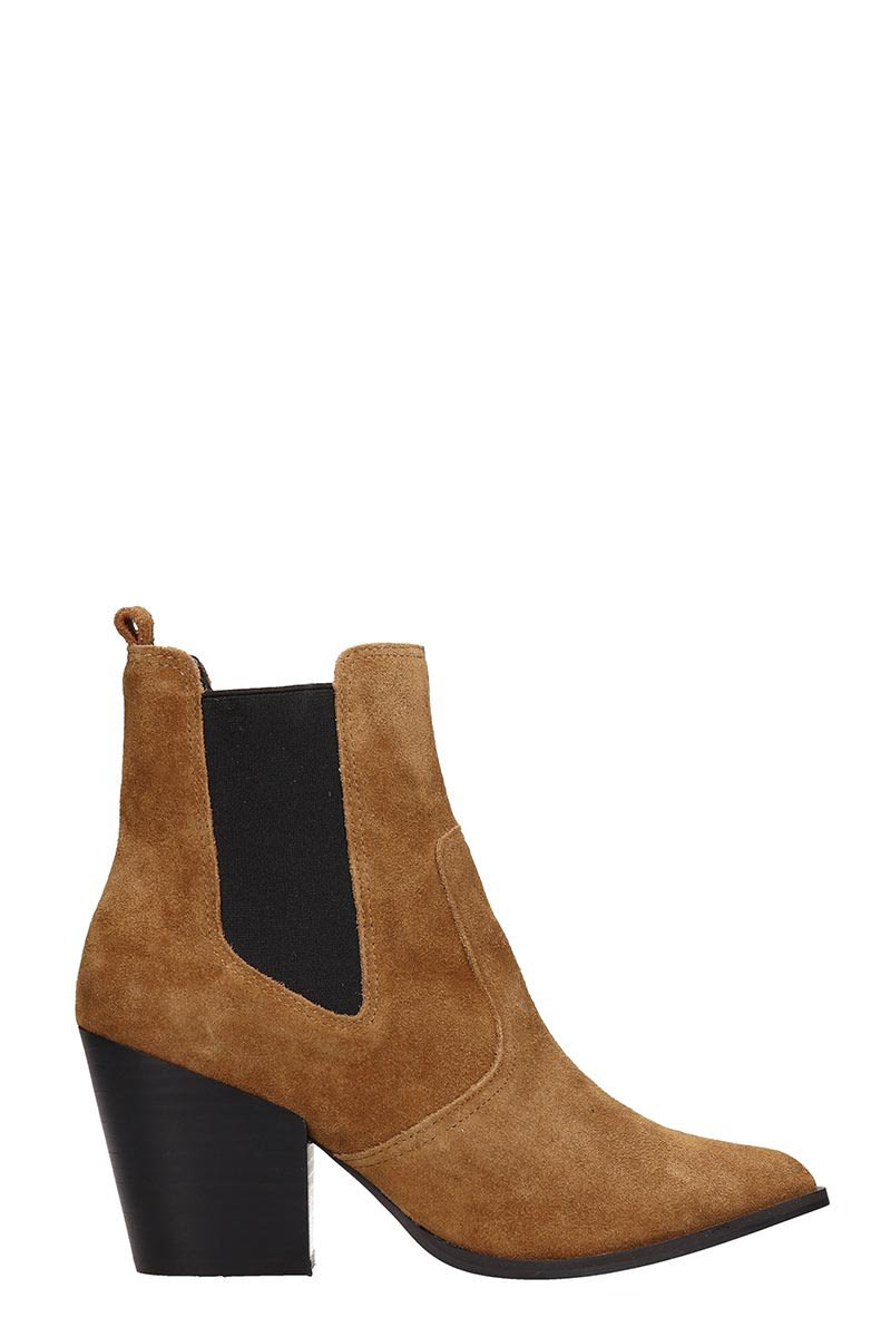 Steve Madden Browne Suede Ankle Boots