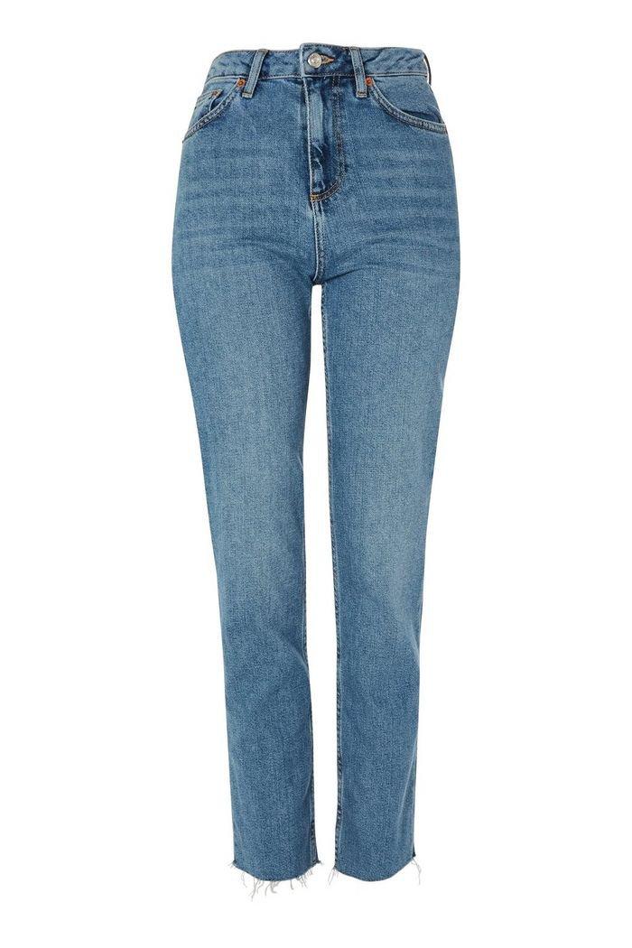Authentic Straight Leg Jeans | Topshop