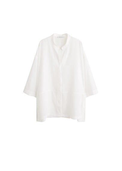 Violeta BY MANGO Satin blouse