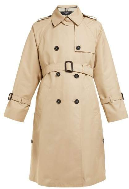 Zannia Trench Coat - Womens - Beige