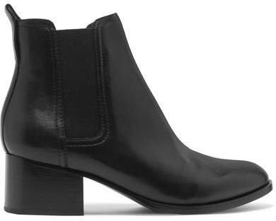 Walker Leather Chelsea Boots - Black