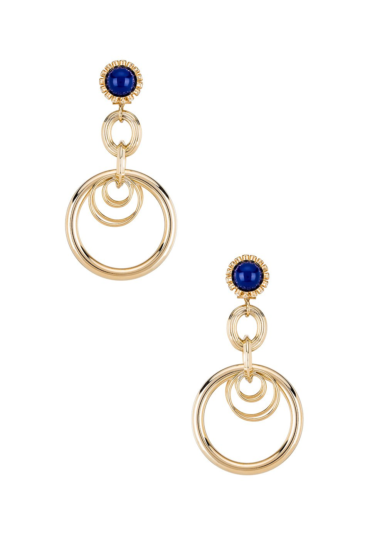 Large Ring Earrings