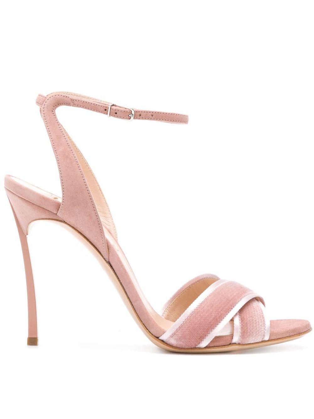 Casadei Crossover Strap Sandals - Farfetch
