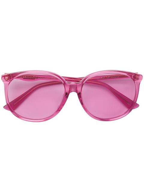 Gucci Eyewear oversized rounded sunglasses