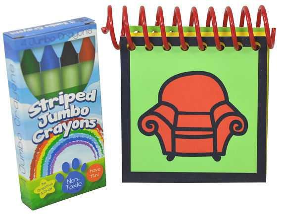 Handy Dandy Notebook and Crayons