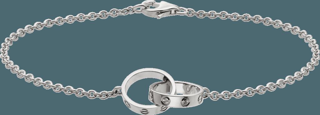 CRB6027200 - LOVE bracelet - White gold - Cartier