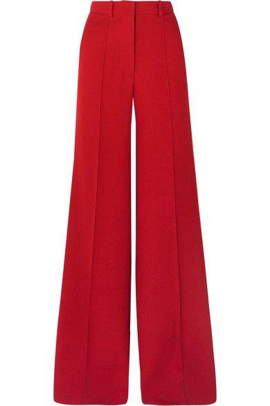 Victoria Beckham | Wool wide-leg pants | NET-A-PORTER.COM