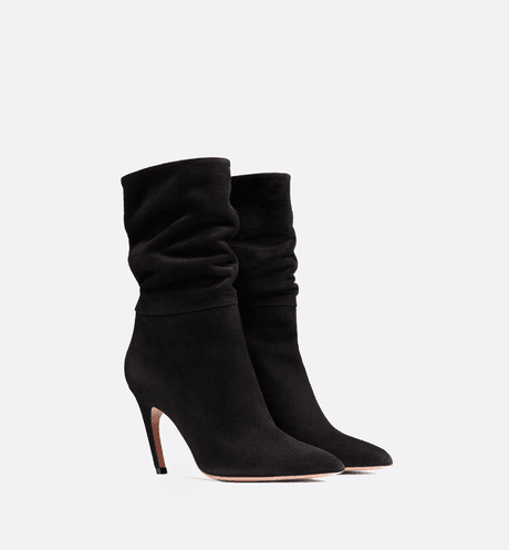 D-Choc suede calfskin ankle boot - Shoes - Woman | DIOR