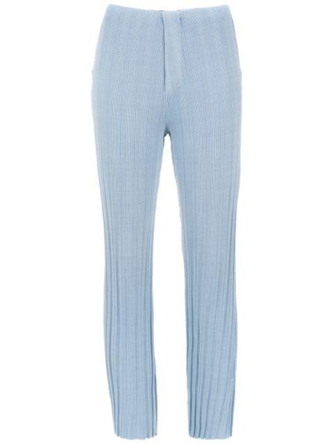 Osklen Straight Fit Trousers - Farfetch