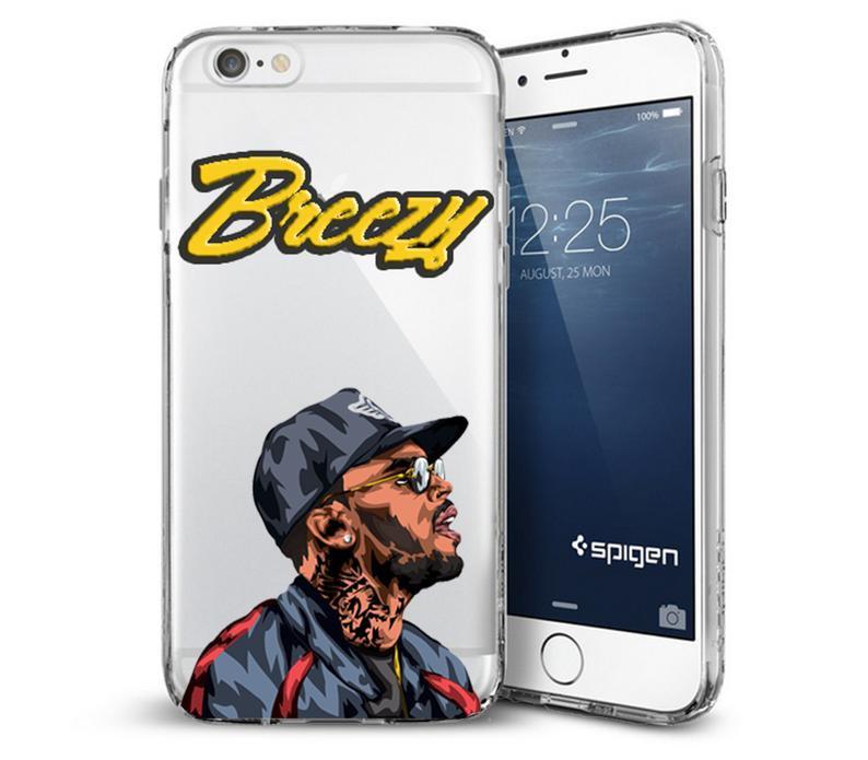 Chris Brown iPhone Case