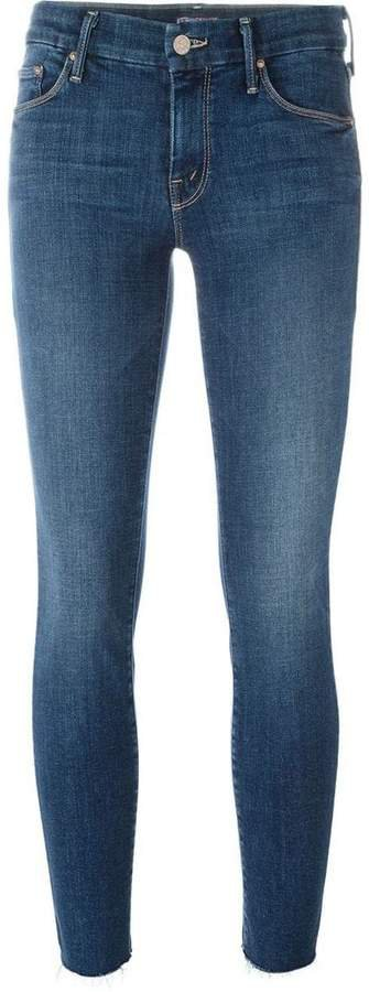 'Looker' ankle fray jeans
