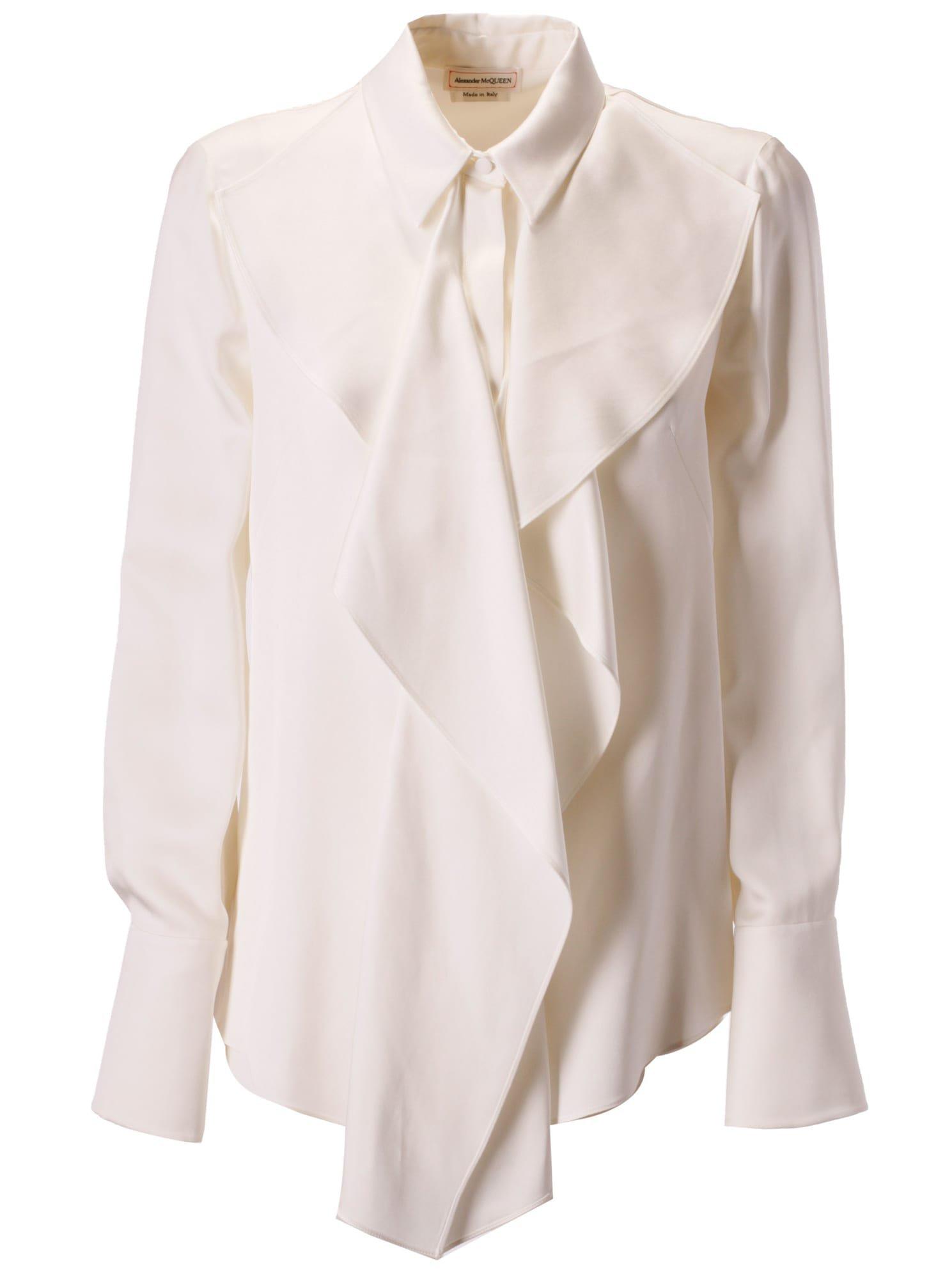 Alexander McQueen Ruffled Detail Shirt