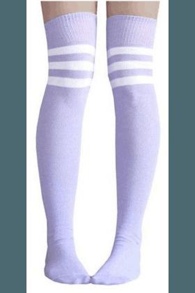 Light Purple Thigh Highs