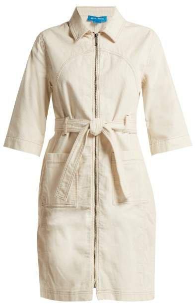 Callow Corduroy Dress - Womens - Ivory