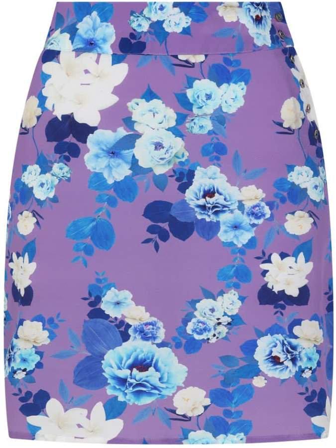 Sophie Cameron Davies Floral Mini Skirt