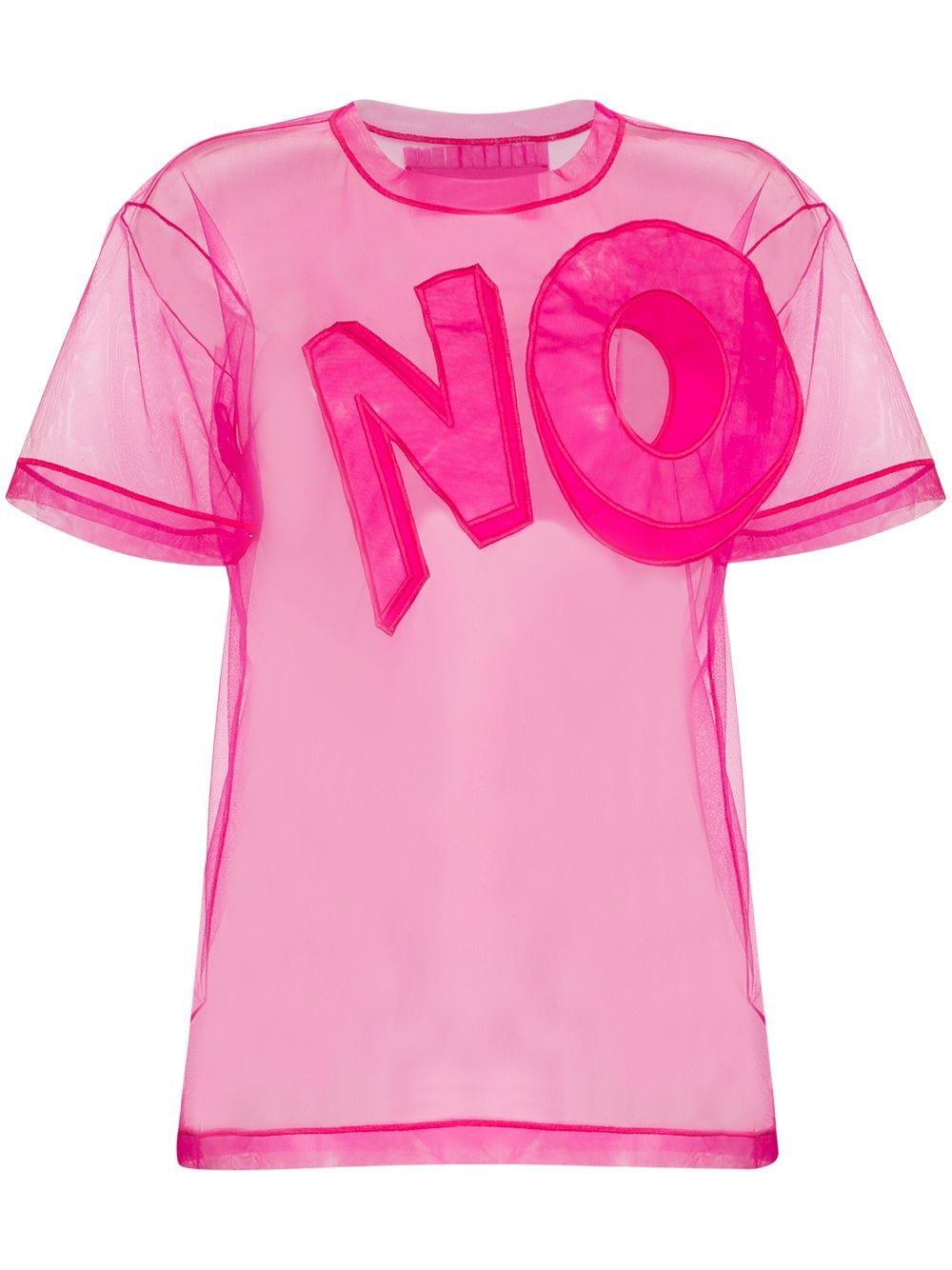 Viktor & Rolf No-Appliqué Mesh T-Shirt